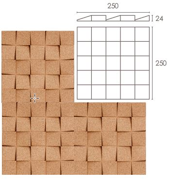 Mini-Chock (Box of 16 pieces - 1 sq m)