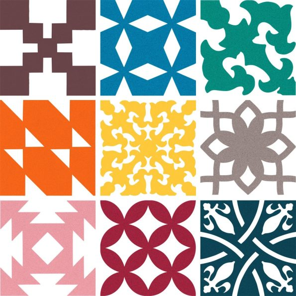Patchwork (Pack of 27 pieces - 1.08 sq m)